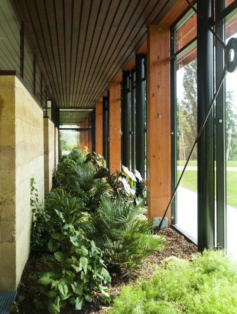 jardin intérieur - photo Grivet