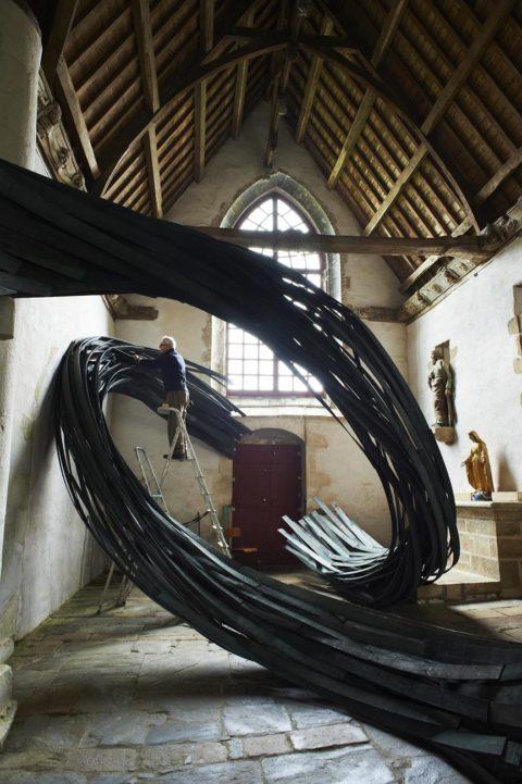 Photographies d'œuvres d'art - Art dans Les Chapelles - Proposition Affiche